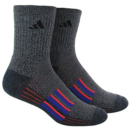 adidas Men's Climalite X II Mid-Crew Socks (Pack of 2)