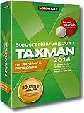 Taxman Rentner & Pensionäre 2014 (für Steuerjahr 2013)