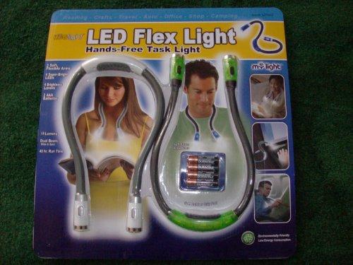 Huglight Flexible Hands Free Book Light - 2 Pack