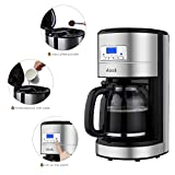 Aicok-12-Cup-Coffee-Maker-Drip-Coffee-Makers-Programmable-Coffee-Maker-with-Timer-and-Reusable-Mesh-Filter-Stainless-Steel-Black