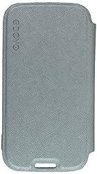 Odoyo LITE FOLIO Case for Samsung I9500 Galaxy S4 Color:Metal Silver