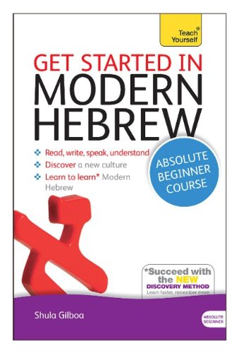 Get Started In Modern Hebrew: A Teach Yourself Course (Teach Yourself Language) front-1040665