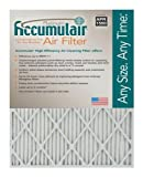Accumulair Platinum 25x32x1 (24.5x31.5) MERV 11 Air Filter/Furnace Filters (2 pack)