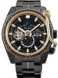 [オリエント]ORIENT 腕時計 ORIENT STAR オリエントスター ターンテーブルモデル 機械式 自動巻き(手巻き付き) ブラック WZ0231DK メンズ