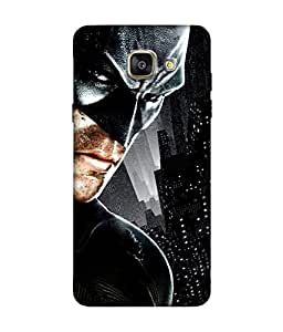 small candy 3D Printed Back Cover For Samsung Galaxy A5 2016 -Multicolor batman