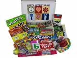 40th Birthday Gift Box Peace & Love Retro Candy- Jr.
