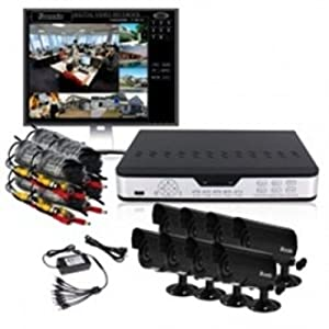 Zmodo 8 Channel-Camera 500 GB HD Surveillance System - Salesdiscountcouponcodes