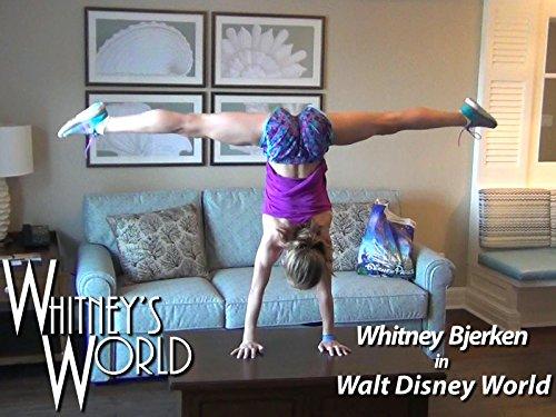 Whitney Bjerken in Disney World on Amazon Prime Video UK