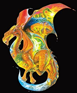 Sunsout Dragon Dreams Shaped 1000 Piece Jigsaw Puzzle