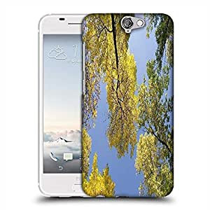 Snoogg autumn trees against the sky Designer Protective Back Case Cover For Asus Zenfone 6