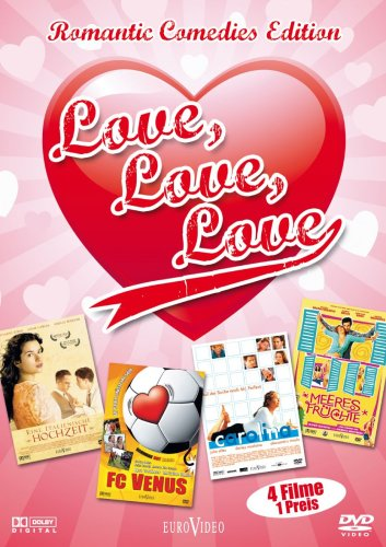 Love, Love, Love - Romantic Comedies Edition (4 Filme auf 1DVD), DVD