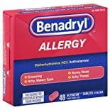 Benadryl Allergy, Ultratab Tablets, 48 ct.