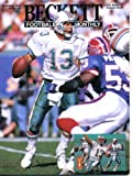 Beckett Football Card Monthly November 1994 Dan Marino/Miami Dolphins on Cover, Heath Schuler/Washington Redskins (on back cover), Steve Largent/Seattle Seahawks, David Palmer/Minnesota Vikings at Amazon.com
