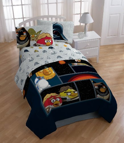 Angry Birds/ Star Wars Horizon Sheet Set, Twin