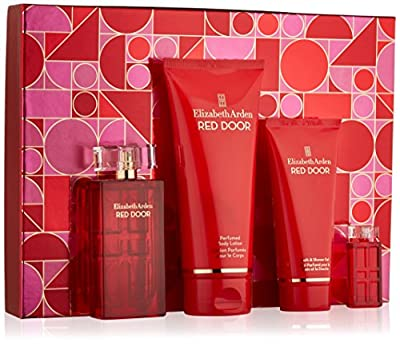 Elizabeth Arden Red Door Holiday Set: Eau de Parfum Spray, Body Lotion, Bath and Shower Gel, Parfum Replica, 595 g.