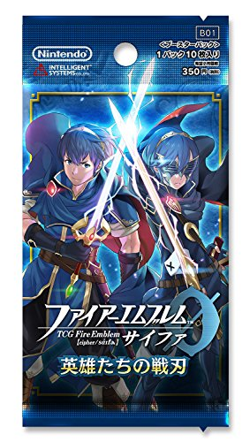 TCG emblem 0 (cipher) booster packs of Heroes battle Blade (1BOX16 Pack)