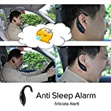 docooler® Driver Alarm Vibrate Alert Anti Sleep Drowsy Alarm for Drivers Security Guards