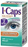 Icaps Areads Formula Eye Vitamin and Mineral Supplement, 120  Softgels,