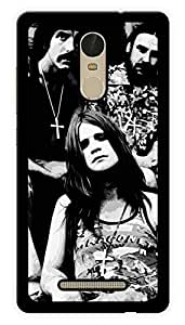 "Humor Gang Black Sabbath Rock Printed Designer Mobile Back Cover For ""Xiaomi Redmi Note 3"" (3D, Glossy, Premium Quality Snap On Case)"