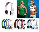 Sportsband Bluetooth Cordless Headphones (PowderPuff Pink, Music, Calls, Sk ....