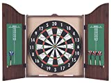 Eddy Toys 39088 - dart cabinet set flocked