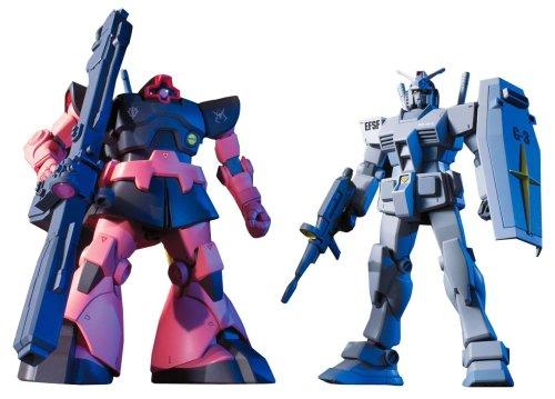 Gundam G3 Gundam + Rick Dom Char Custom Set HGUC 1/144 Scale