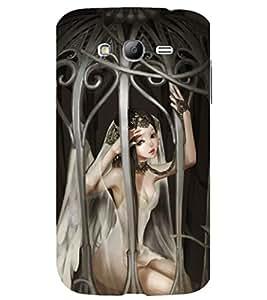 printtech Anime Cute Beautiful Girl Jail Back Case Cover for Samsung Galaxy Grand i9080 / Samsung Galaxy Grand i9082