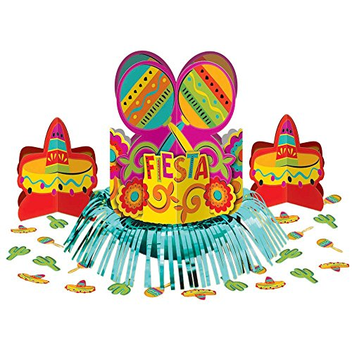 Amscan BB289736 Fiesta Table Decorating Kit -Each