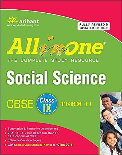 All in One CBSE - Social Science (Class 9 Term 2) (English) 2nd  Edition price comparison at Flipkart, Amazon, Crossword, Uread, Bookadda, Landmark, Homeshop18
