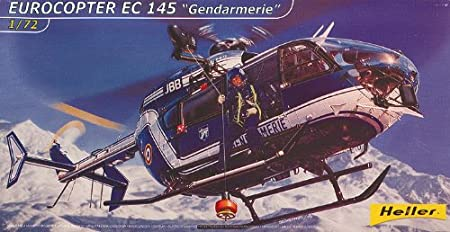 Heller - 80378 - Maquette - Avion - Eurocopter EC-145 Gendarmerie - Echelle 1/72