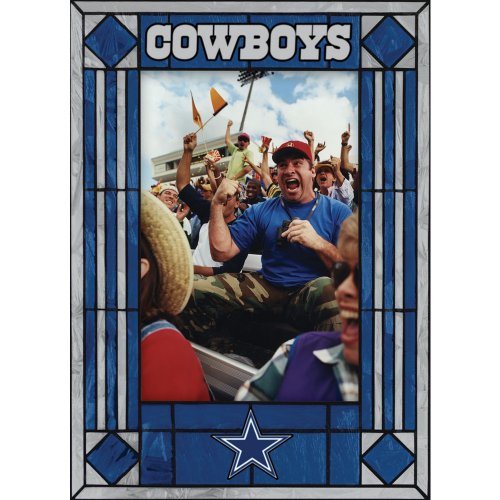 Dallas Cowboys Art Glass Frame at Amazon.com