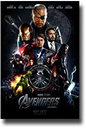 The Avengers Poster - 2012 Movie Promo Flyer - 11 X 17 - Shield Collage Teaser