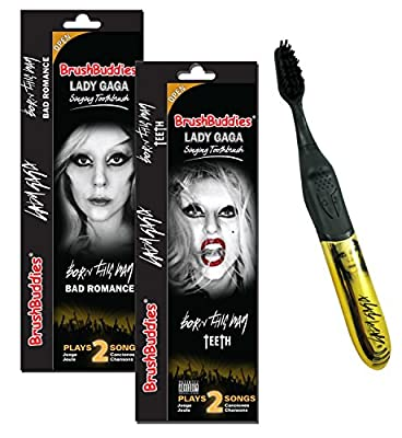 Lady Gaga Singing Toothbrush Bad Romance(pack of 3)