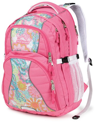 High Sierra Swerve Backpack, Pink