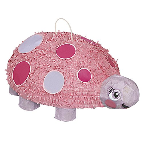 Unique Industries BB100389 Pink Ladybug Pinata