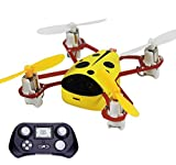 CHEER X1 2.4G 4CH 6-Axis GYRO Headless Nano RC Quadcopter Mini UFO Drone Yellow