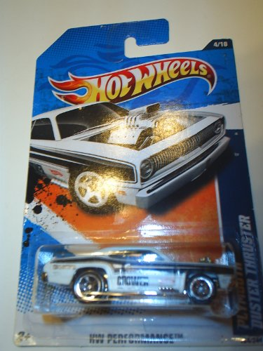 2011 HOT WHEELS HW PERFORMANCE 134/244 WHITE PLYMOUTH DUSTER THRUSTER 4/10 - 1