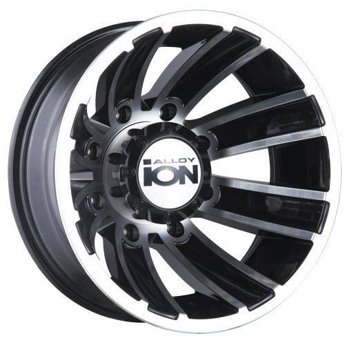 цена на Ion Alloy Dually 166 Matte Black Wheel with Machined Face (16x6