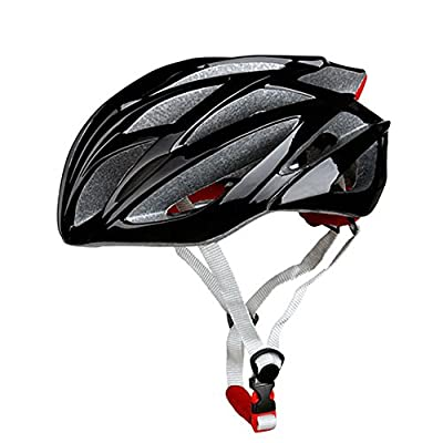 Adjustable Bicycle Helmet, GIM 21 Vent Mens Bicycle Helmet Graphite 57-62CM Integrally-molded EPS Outdoor Sports Road Mountain Bike Skating Helmets for Unisex by Global i Mall