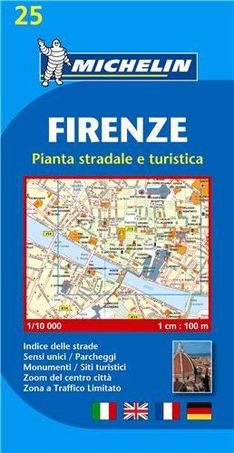 Plan Michelin Florence