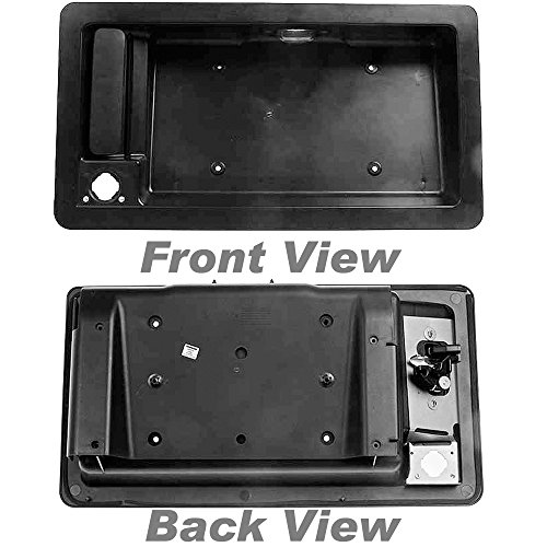 Ford E150 Rear Door License Plate Housing