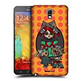 Head Case Designs Voodoo Doll Payaso Protective Snap on Hard Back Case Cover for Samsung Galaxy Note 3 Neo N7505