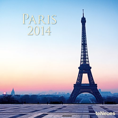 2014 Paris Wall Calendar