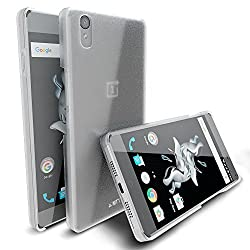 MTT® Slim Fit Premium PC Hard Back Case for OnePlus X (Matt Clear)