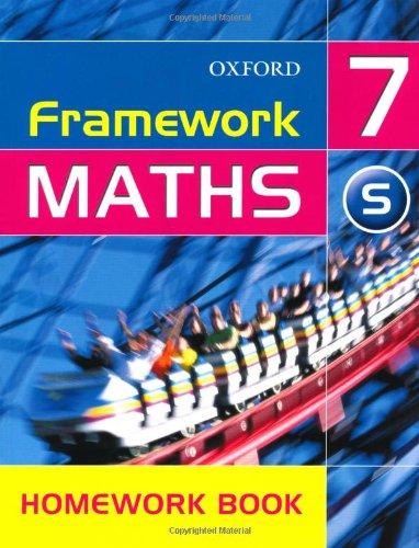 Framework Maths: Year 7: Framework Maths Yr 7 Support Homework Book: Support Homework Book Yr.7