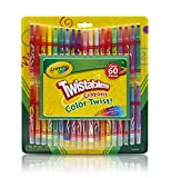 Crayola Twistable Crayons and Paper Toy (60 Piece)