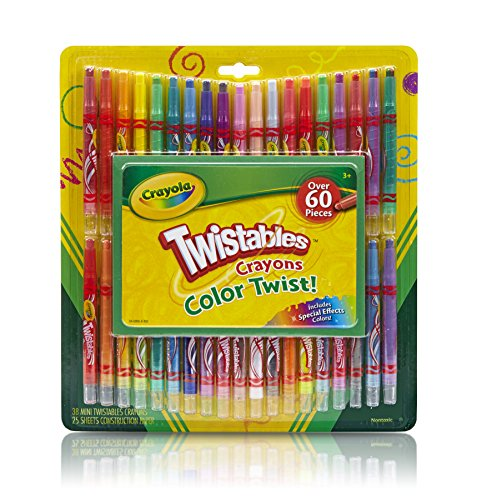 Crayola Twistable Crayons & Paper Toy (60 Piece)