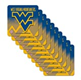 NCAA West Virginia Mountaineers Premium Coaster Set at Amazon.com