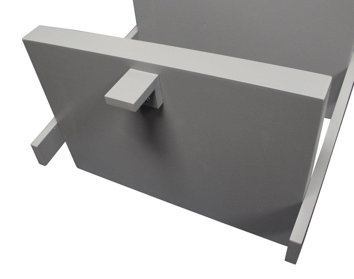 "eHemco 5 Tier Bookcase Shelf Ladder in White Finish 21-5/8""W X70""H"