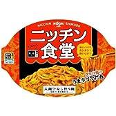 日清 ニッチン食堂 太麺汁なし担々麺 115g×12個